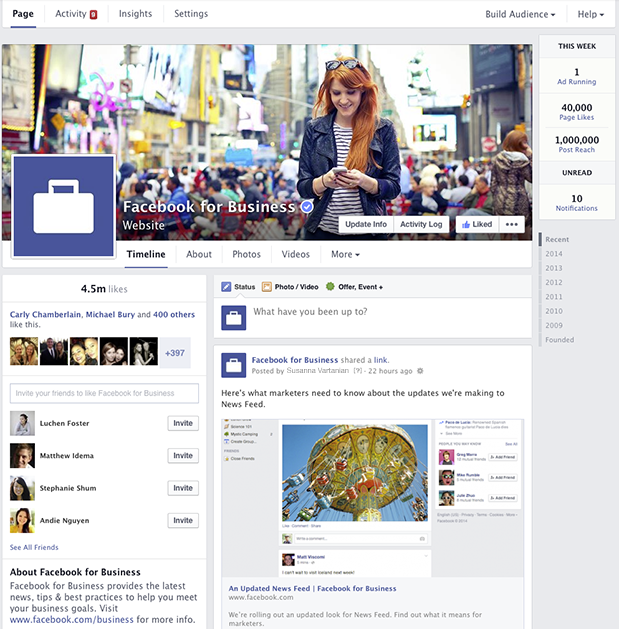 Facebook business page Samuli Pehkonen